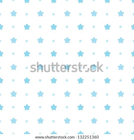JPEG seamless blue and white background. Great for Greeting Cards, gift wrap, surface textures. See my folio for matching patterns in this set and for vector version - set of 4 seamless patterns. - stock photo