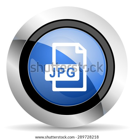 jpg file icon original modern design for web and mobile app on white background  - stock photo