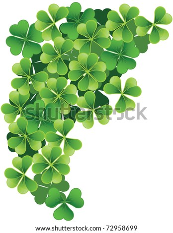 JPG Green clover - stock photo