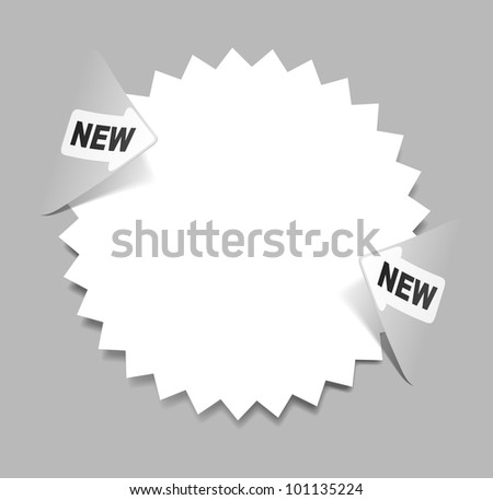 jpg, newsletter, realistic design elements - stock photo