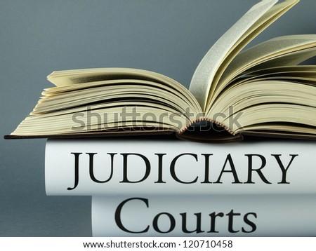 Judiciary (book reviews) - stock photo