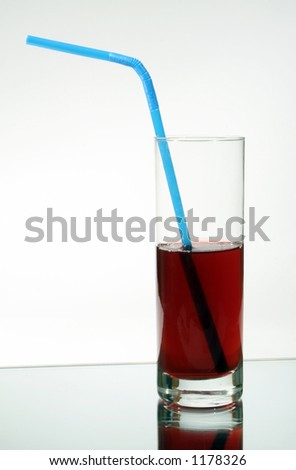 juice into a glass