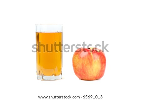 Juice with apple