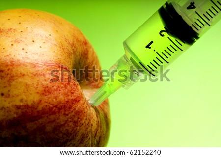 Juicy apple - stock photo