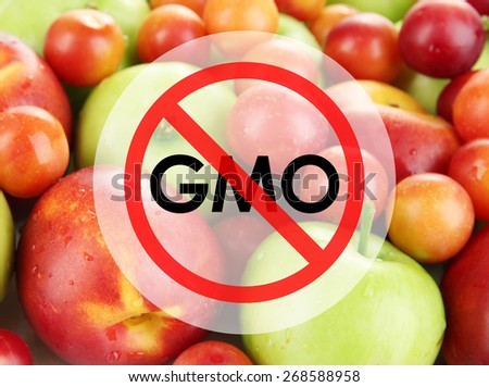 Juicy fruits without gmo - stock photo