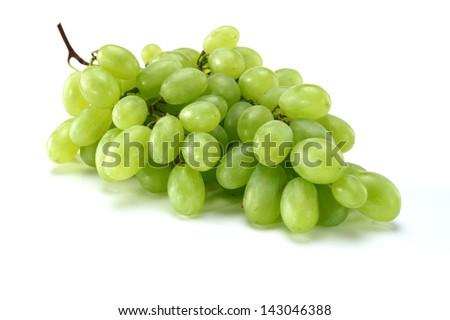 juicy grapes - stock photo