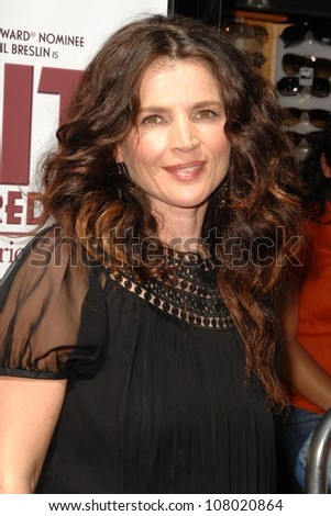 """Julia Ormond  at the world premiere of """"Kit Kittredge: An American Girl"""". The Grove, Los Angeles, CA. 06-14-08 - stock photo"""