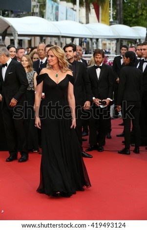 "Julia Roberts  at the Money Monster Premiere for ""Money Monster"" at the 69th Festival de Cannes.