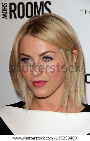 "Julianne Hough at the British Fashion Council's ""London Show Rooms LA,"" Thompson Hotel, Beverly Hills, CA 04-09-13"
