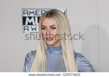 Julianne Hough attends the 2016 American Music Awards in Los Angeles, California on November 20, 2016 at the Microsoft Theater