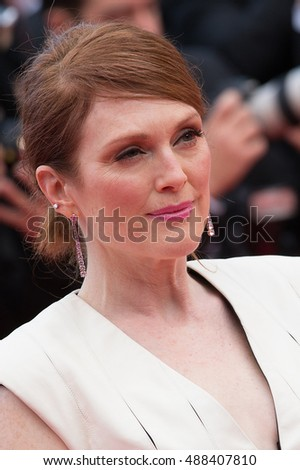 "Julianne Moore at the Premiere for ""Money Monster"" at the 69th Festival de Cannes. May 12, 2016  Cannes, France"
