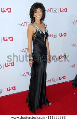 Julie Chen at the 35th Annual AFI Life Achievement Award celebration honoring Al Pacino. Kodak Theatre, Hollywood, CA. 06-07-07