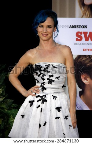 Juliette Lewis at the Los Angeles premiere of 'The Switch' held at the ArcLight Cinemas in Hollywood on August 16, 2010.
