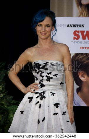 "Juliette Lewis at the Los Angeles Premiere of ""The Switch"" held at the ArcLight Cinemas in Los Angeles, California, United States on August 16, 2010."