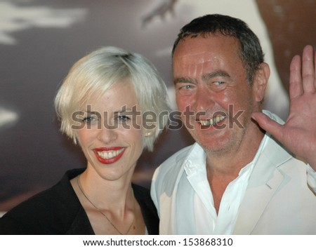 "JULY 20, 2007 - BERLIN: Bernd Eichinger with is wife, Katja Hoffmann, at the German premiere of the movie ""Silver Surfer"", Sony Center, Potsdamer Platz, Berlin."