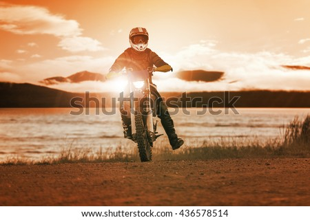 junction of railways track in trains station against beautiful light of sun set sky use for land transport and logistic industry background ,backdrop,copy space theme - stock photo