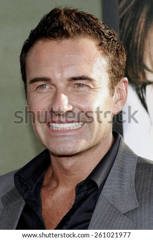 "June 13, 2006. Julian McMahon attends the Los Angeles Premiere of ""The Lake House"" held at the ArcLight Cineramadome in Hollywood, California United States."