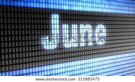 June sign