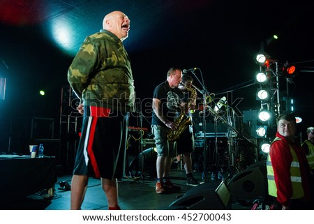 June 25th,Bundoran,Ireland-Bad Manners perform live at the Sea Sessions Festival ,June 25th in Bundoran,Ireland