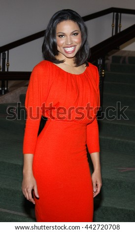Jurnee Smollett at the Essence Black Women in Hollywood Luncheon held at the Beverly Hills Hotel in Beverly Hills, USA on February 19, 2009. - stock photo