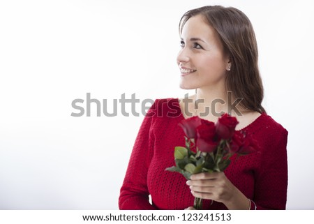 Just got flowers on valentine's day!