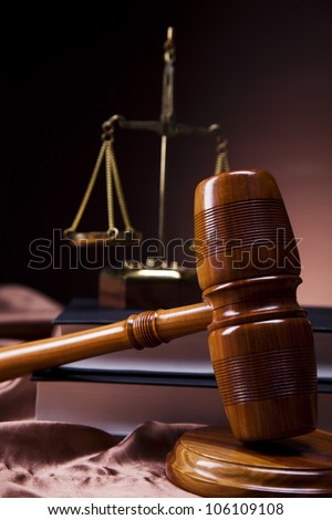 Justice Scale - stock photo