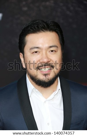 "Justin Lin at the ""Fast And Furious 6"" Los Angeles Premiere, Gibson Amphitheatre, Universal City, CA  05-21-13"