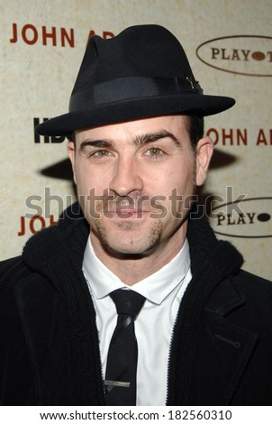 Justin Theroux at JOHN ADAMS Premiere, The Museum of Modern Art, MoMA,, New York, NY, March 03, 2008