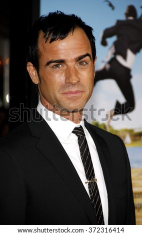 "Justin Theroux at the Los Angeles Premiere of ""Wanderlust"" held at the Mann Village Theatre in Los Angeles, USA on February 16, 2012."