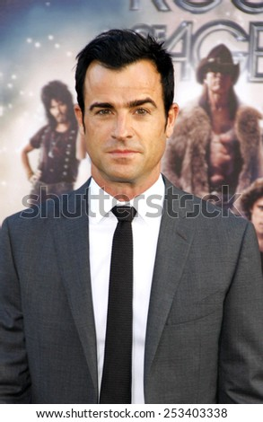 "Justin Theroux at the World premiere of ""Rock of Ages""  held at the Grauman's Chinese Theater in Los Angeles, California, United States on June 8, 2012."