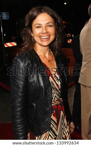 "Justine Bateman at the World Premiere of ""The Kingdom"". Mann Village Westwood, Westwood, CA. 09-17-07 - stock photo"