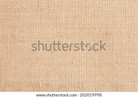 Jute or hessian texture as background - stock photo