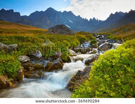 Kackar mountains, Turkey - stock photo