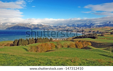 Kaikoura, New Zealand - stock photo