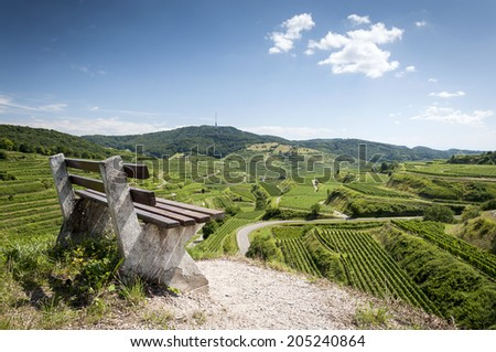 Kaiserstuhl, Germany - stock photo