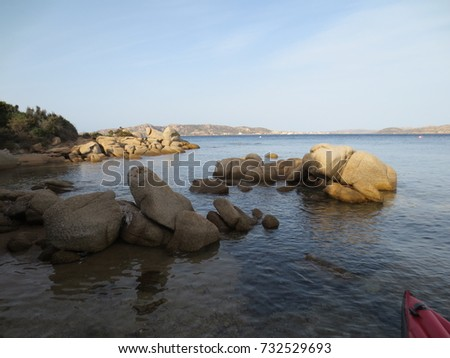 kajaking the sardinian coast