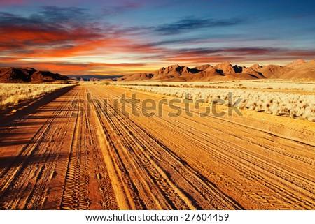 Kalahari Desert, Namibia - stock photo