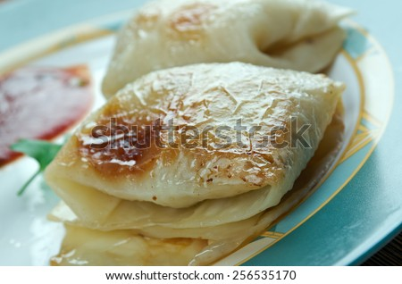Kaldolmar - Swedish Cabbage Rolls .close up - stock photo