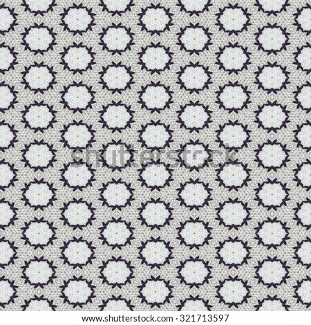 Kaleidoscope mosaic wool seamless texture or background