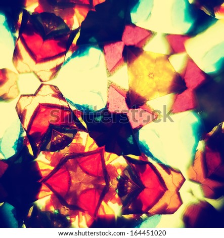 Kaleidoscope pattern - stock photo