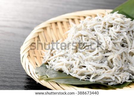 kamaage shirasu,Japanese food - stock photo