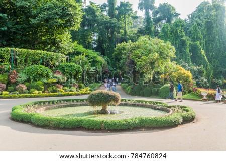 Royal Botanical Gardens Of Peradeniya Stock Images Royalty Free Images Vectors Shutterstock