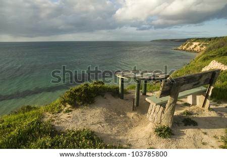 Kangaroo Island Coastlines - stock photo