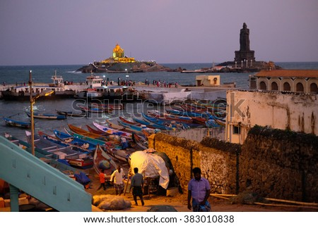 Kanyakumari - stock photo