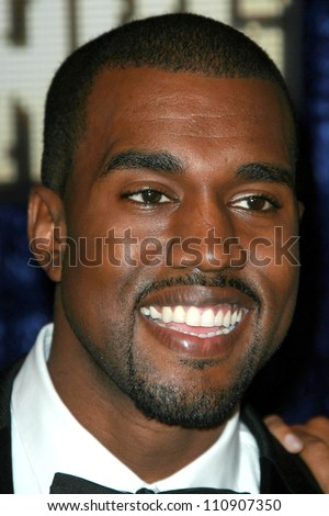 Kanye West arriving at the 2007 MTV Video Music Awards. The Palms Hotel And Casino, Las Vegas, NV. 09-09-07 - stock photo