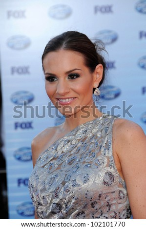 Kara DioGuardi  at the American Idol Grand Finale 2010, Nokia Theater, Los Angeles, CA. 05-26-10