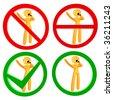 Karaoke sing spot 3d pictogram icon public sign symbol - stock vector
