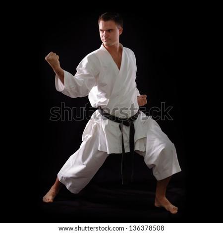 from Dario black men in karate