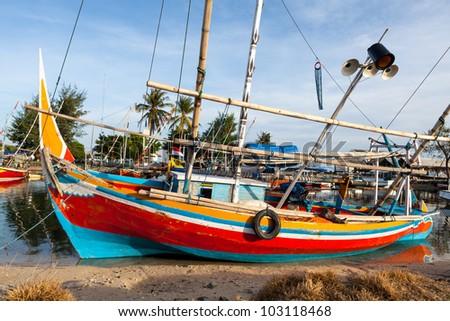 Karimunjawa Fishing Village - stock photo