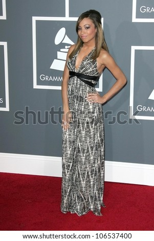 Karina Pasian at the 51st Annual GRAMMY Awards. Staples Center, Los Angeles, CA. 02-08-09